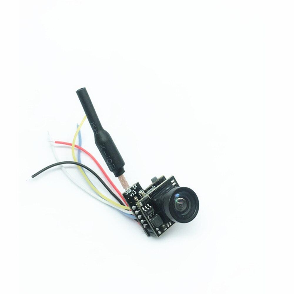 Nueva llegada Turbowing Cíclope Mini 5,8G 25 mW 48CH AIO FPV Cámara VTX transmisor Combo soporte Smart Audio v1 para Dron RC Accs