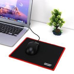 Горячая 25*21 см Коврик для мыши Черный Красный замок резиновая прокладка скорость игровой коврик для мыши для ПК ноутбук Черный игры Коврик для мыши Micepad Новый коврик для мыши коврик для мышки коврики для мыши