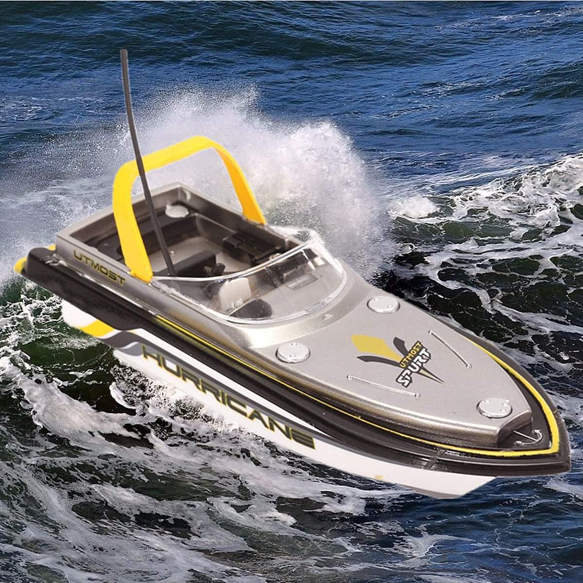 Электрический радиоуправляемый Радиоуправляемый пульт 40 МГц, Супер Мини скоростная лодка, двойной мотор, детская игрушка, быстрая зарядка, подарок для мальчика, умная частота