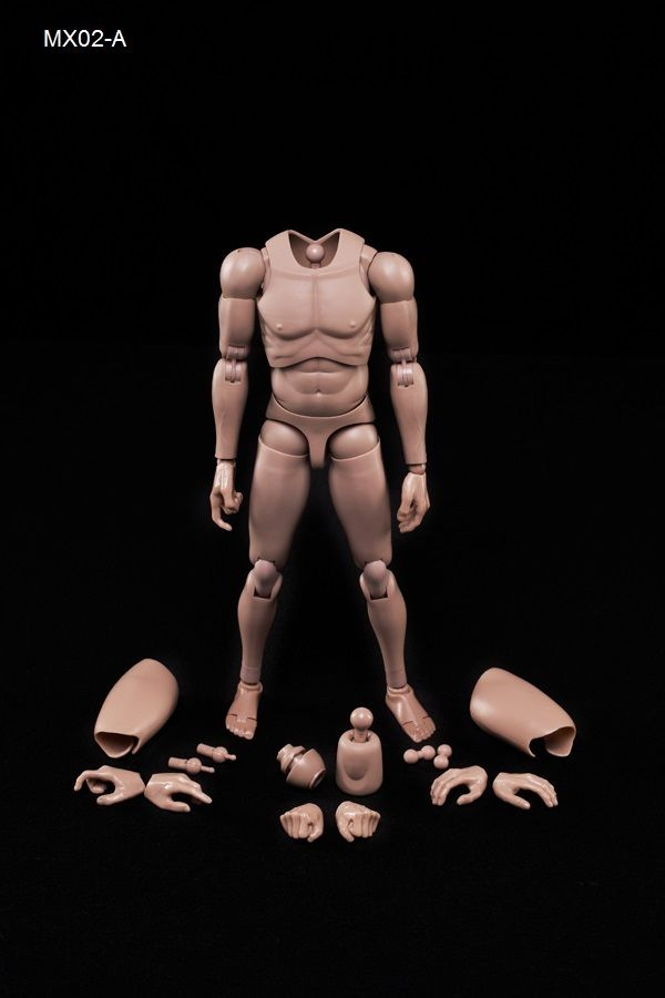 Collection Dolls 1/6 Scale NEW Version Highly Cost-Effective Edge Male Body Series Caucasian Skin MX02-A model