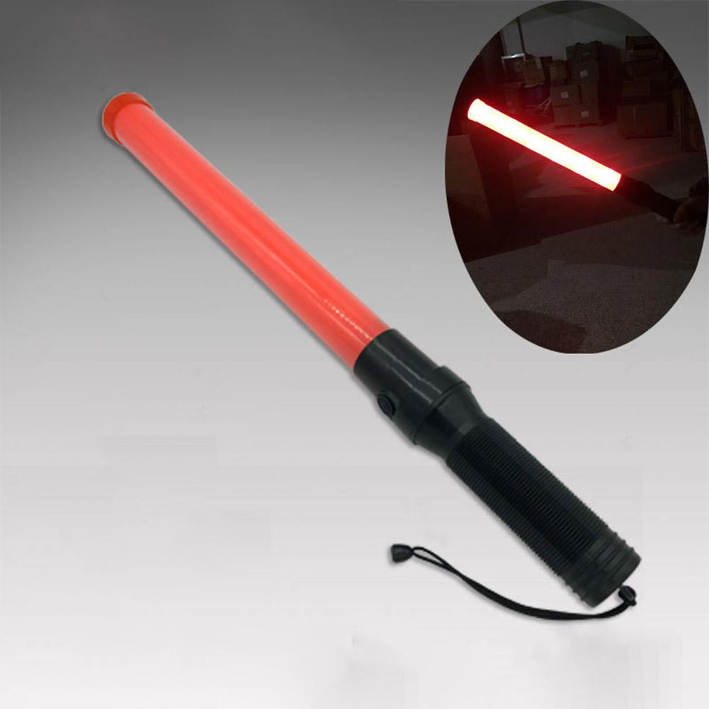Linterna táctica de 3 W, potente lámpara Led, linterna, equipo de policía de tráfico, batería No.1, luz LED de listón rojo