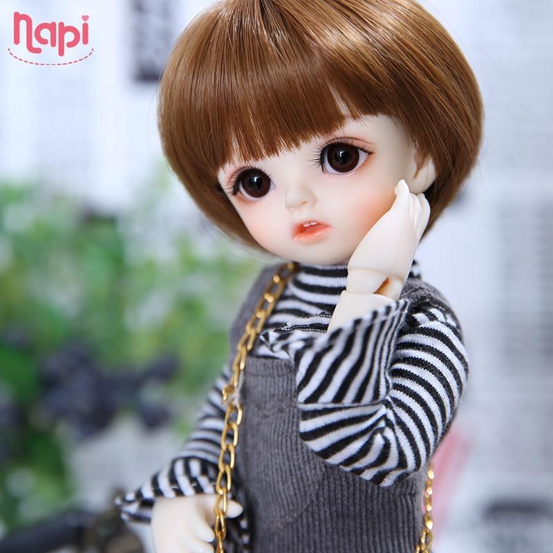 Napi Open-eyed Karou BJD SD Doll 1/6 YoSD Body Model Baby Girls Boys Resin Toy High Quality Fashion Shop Luodoll Fixed-teeth