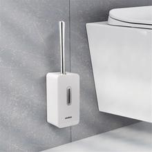 Jeu de brosses à toilettes créatives   Brosse de toilette propre, brosse de toilette à Angle mort sans perforation