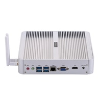 Fanless Mini PCIntel Quad Core I5 8250UWindows 10/UbuntuSilver[HUNSN BM07L](1VGA/1HD/4USB3.0/4USB2.0/1LAN/Dual DDR4)
