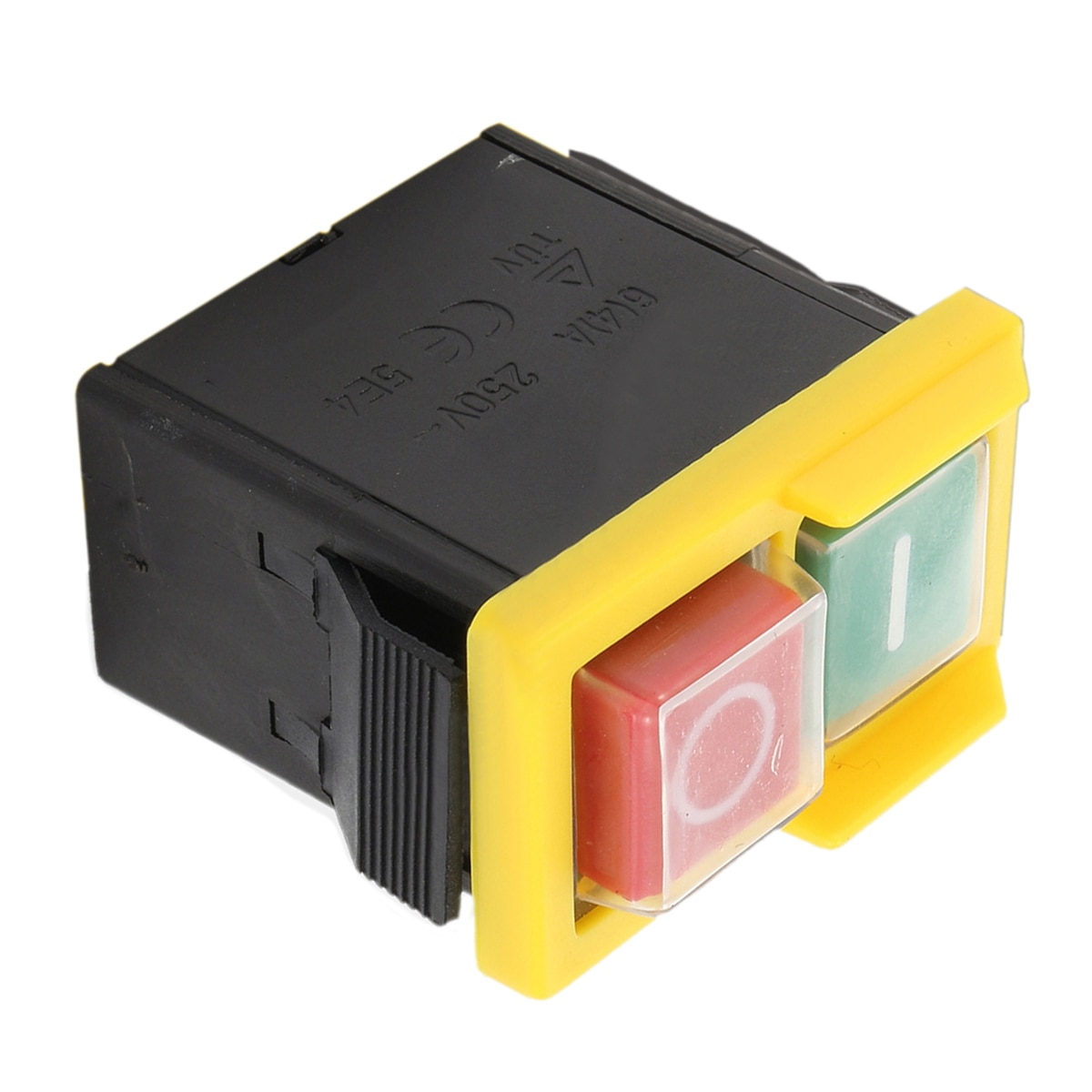 250V 4A IP54 5E4 On/Off Switch Universal Replacement Electrical Switch Part For Woodworking Grinding Wheel Machine Accessory  - buy with discount