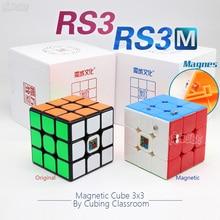 Moyu RS3 RS3M Cube magnétique 3x3 Cube de vitesse magique 3x3x3 Cubo Magico 3x3 Puzzle Mf 3RS V3 MF3RS Cubetoys réguliers pour enfants