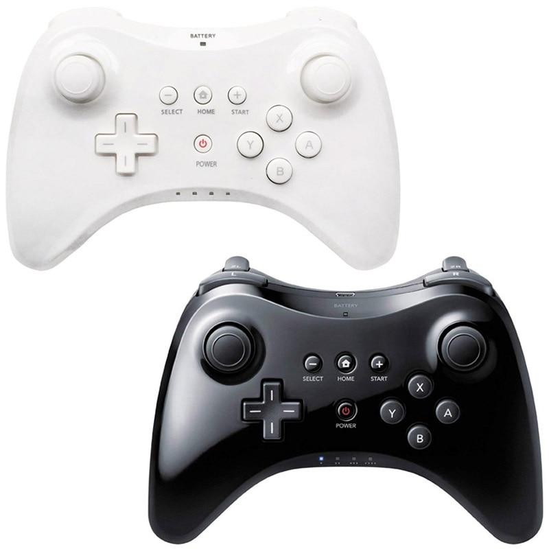 Black/White High Quality U Pro Bluetooth Wireless Controller for Nintendo Wii U Game Controller Joystick Gamepad