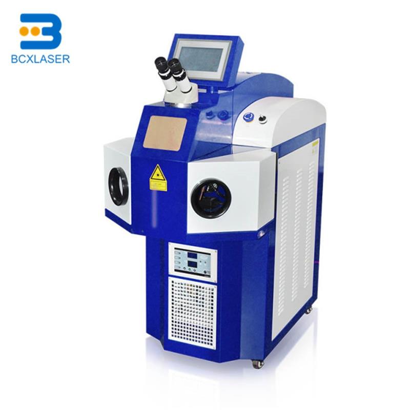 Máquina de soldadura láser automática de fibra óptica de fábrica China para hacer joyas