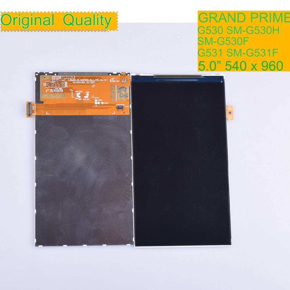 10Pcs/lot For Samsung Galaxy Grand Prime G530 G530F G530H G531 G531F LCD Display Screen Monitor Module SM-G530H SM-G530F