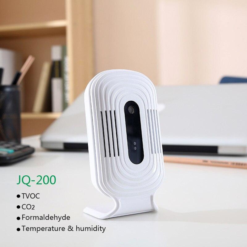 Nuevo WiFi analizadores de Gas Digital formaldehído HCHO y TVOC y CO2 Detector Tester medidor de Sensor Monitor de calidad del aire dispositivo de detección.