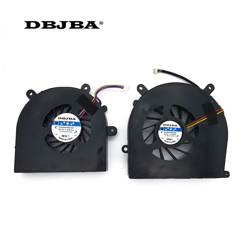 مروحة ل Clevo الصقر P170EM P150SM P170SM P150HM P170HM BS6005HS-U0D و BS6005MS-U94 GPU + وحدة المعالجة المركزية
