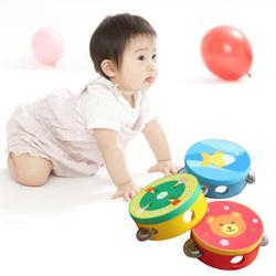 Baby Musik Trommel Spielzeug Educational Cartoon Musical drum Beat spielzeug Instrument Hand Sound Trommel Baby Spielzeug für kinder