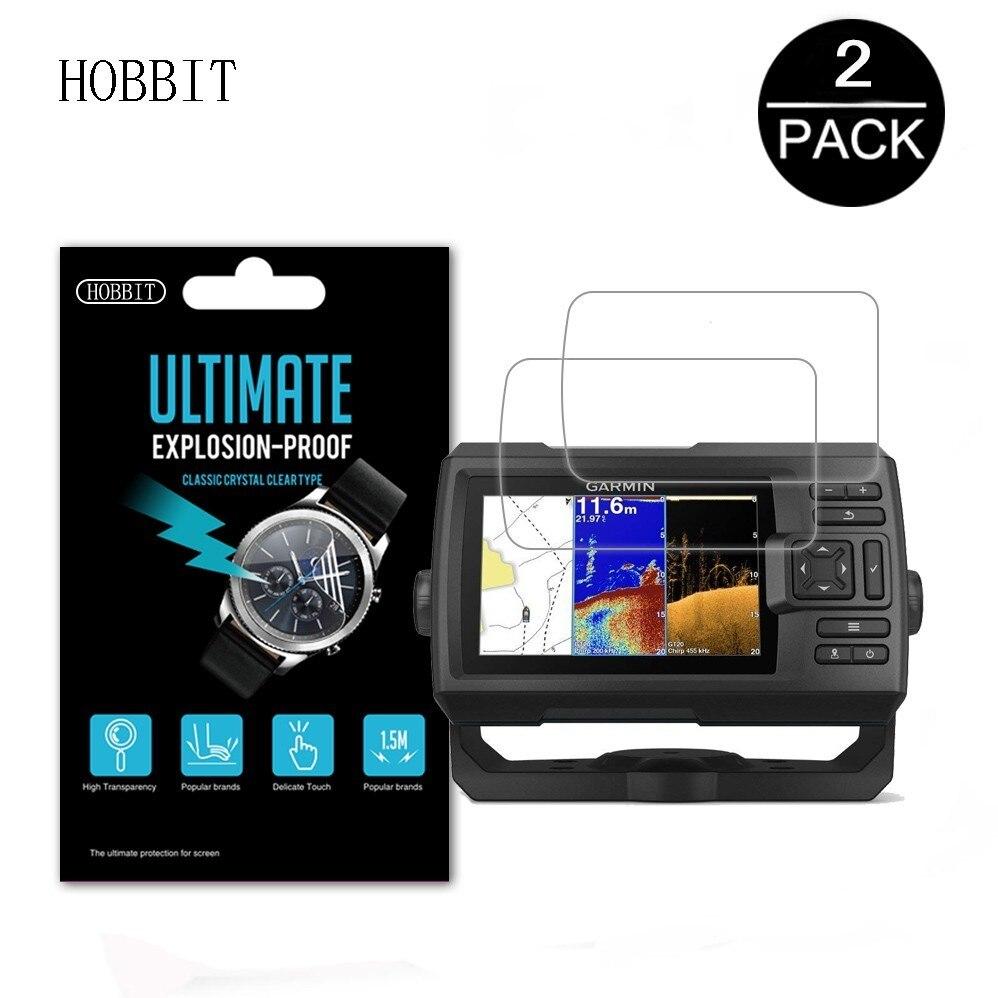 Paquete de 3 protectores de pantalla para Garmin Striker de 5CV, GPS, LCD, accesorios de película brillante, Protector de pantalla Nano a prueba de explosiones para Garmin Fish Finder