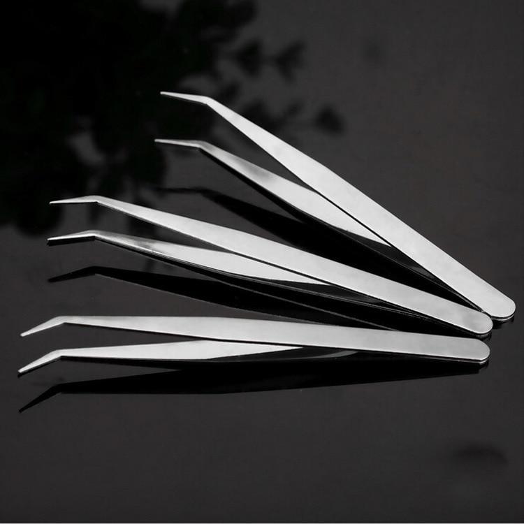 CHUANGGE pinzas de acero inoxidable herramienta de bricolaje regalo 9cm fabricación de...