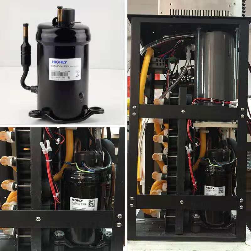Compresor de enfriamiento de diodo láser compresor de enfriamiento de alta potencia de 600w para uso de máquina de depilación láser de diodo