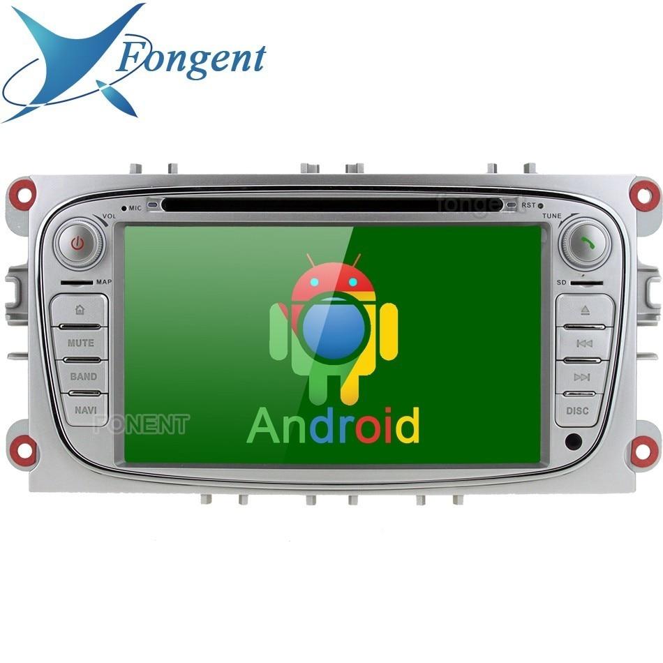 Para Ford Mondeo Focus 2007-2011 S-Max c-max 2008 2009 2010 Galaxy Kuga, navegador GPS con Radio para coche, DVD Multimedia Android, DAB