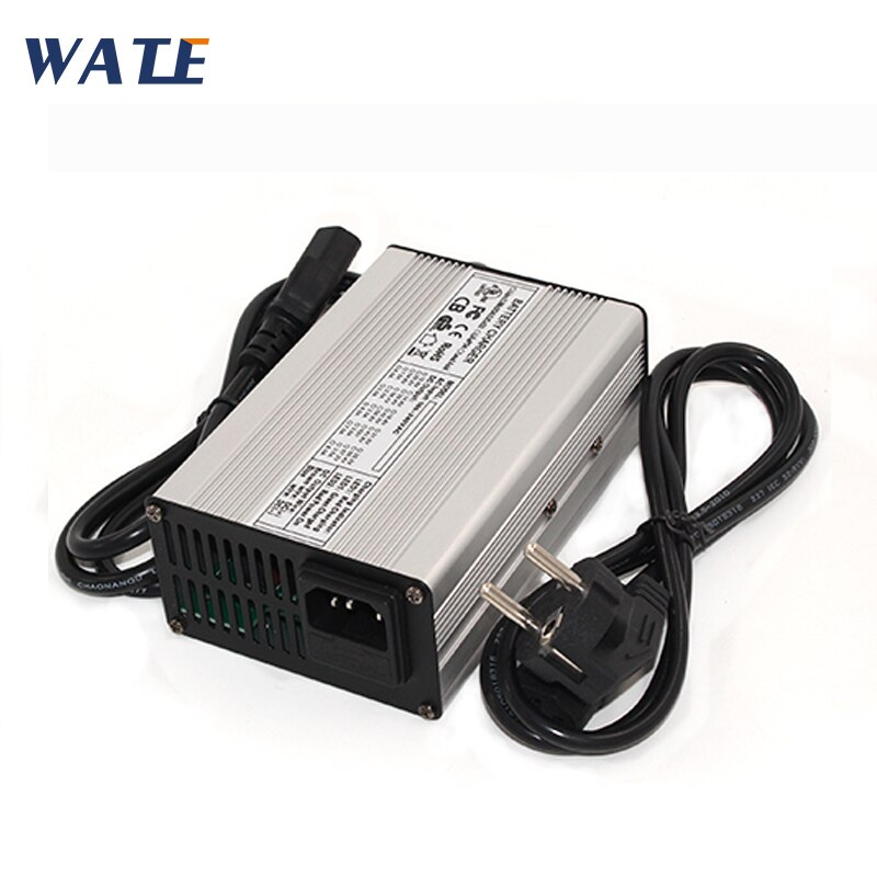 Cargador de batería Li-ion de 46,2 V 4A 11S 40,7 V cargador de batería automático para carrito de golf y coche eléctrico