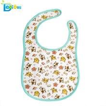 Ddlg-bavoir bébé fille   En coton, personnalisé, grande taille, bavoir dessin animé, pour bébé fille ou garçon!