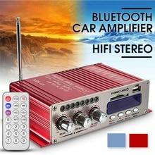 HY502S-amplificateur de puissance voiture   bluetooth, Mode son stéréo, HiFi, 2 canaux, Mini FM Audio + MP3, haut-parleur, lecteur de musique, pour iPod