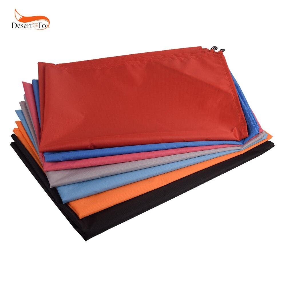 Mini alfombra de playa plegable de picnic de 7 colores con estera impermeable para acampar al aire libre estera fácil de llevar