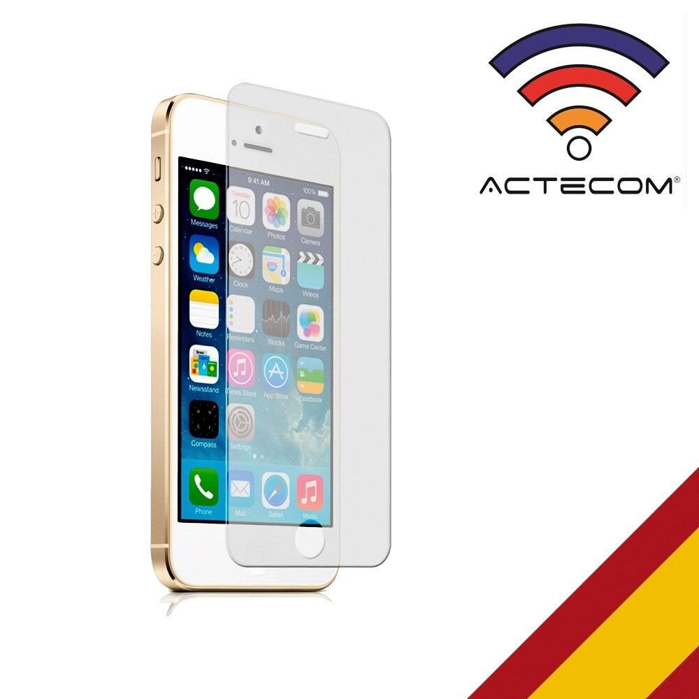 Protector de Pantalla Cristal Templado para Iphone 5 5S ACTECOM