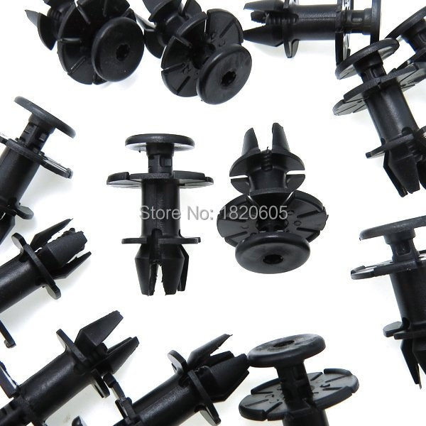 Qualidade superior 20x saia do peitoril lateral guarnição clipe rocker painel moldando rebite para bmw 1/3/6/x série x1 x6 f12 e21 e24 e30 e36 e46 e5