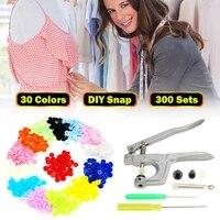 800pcs200set t5 for t3 t8 clothes buttonplier kit plastic fastener snap resin press stud for size 16 20 24 snap