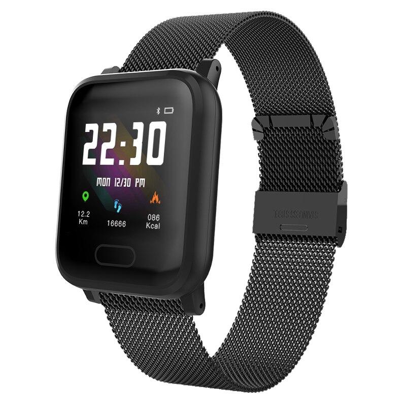 K8 Смарт-часы для мужчин IP67 Водонепроницаемый пульсометр кровяное давление кислородный сон умный Браслет фитнес-трекер несколько видов спорта