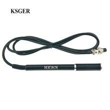 KSGER T12 alliage daluminium FX9501 poignée STM32 OLED Station de fer à souder conseils de soudage réparation outil électronique