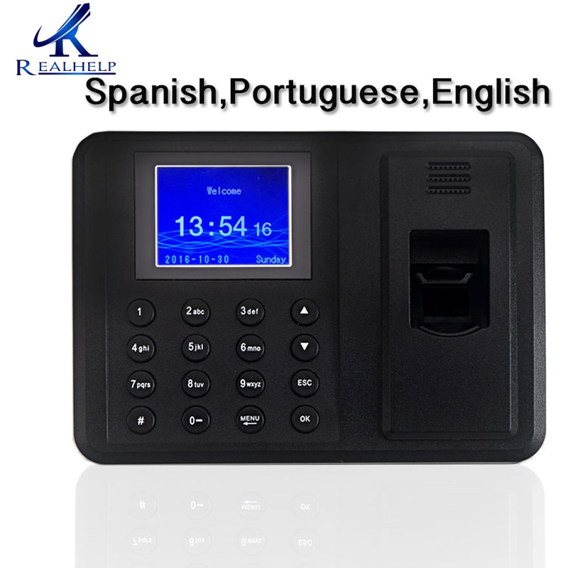 Cheapest Time Attendance Machine for 2000Users Employee Scanning fingerprint time attendance system registro de acceso