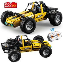 522pcs 2.4Ghz Technic City All Terrain Off-Road Climbing Trucks RC Car Off-Road Racing Building Blocks bricks toys for children