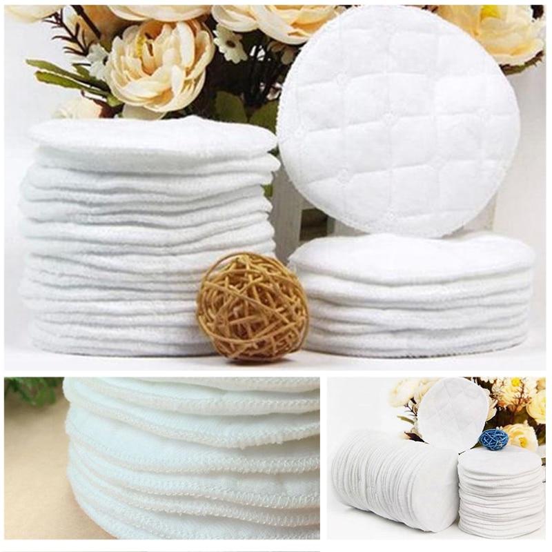 20pcs/Lot Reusable Nursing Breast Pads Washable Soft Absorbent Feeding Breastfeeding Pad Useful NEW