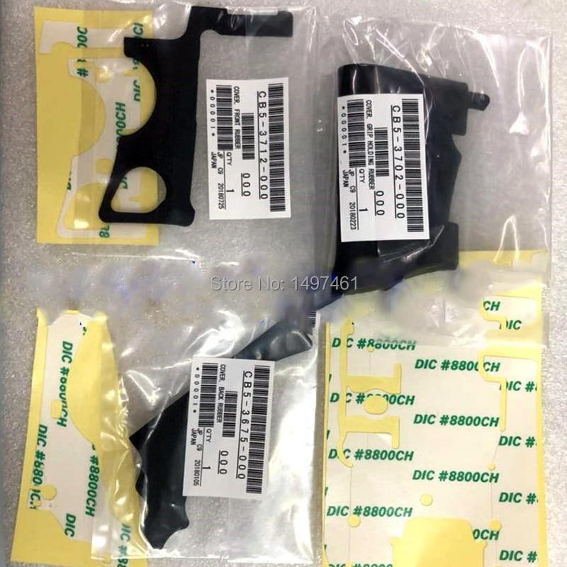 Un conjunto de 3 piezas de goma original Bady (agarre + lado izquierdo + pulgar) para Canon EOS 5D Mark IV; 5DIV 5D4 DS126461 SLR (con adhesivo)