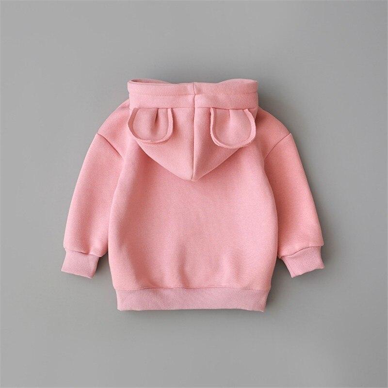 Printemps automne bébé garçons filles vêtements enfants coton sweat à capuche enfants vêtements de sport décontractés vêtements pour bébés sweats à capuche