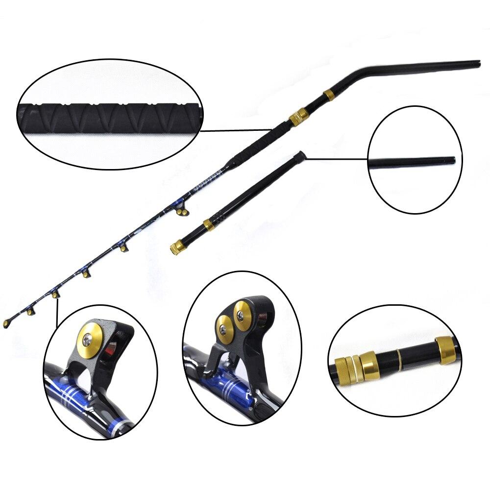 """OLOEY BlueSpear 130lbs Trolling Rod 66 """"Bom Serviço de Pesca Big Game Trolling Rod"""