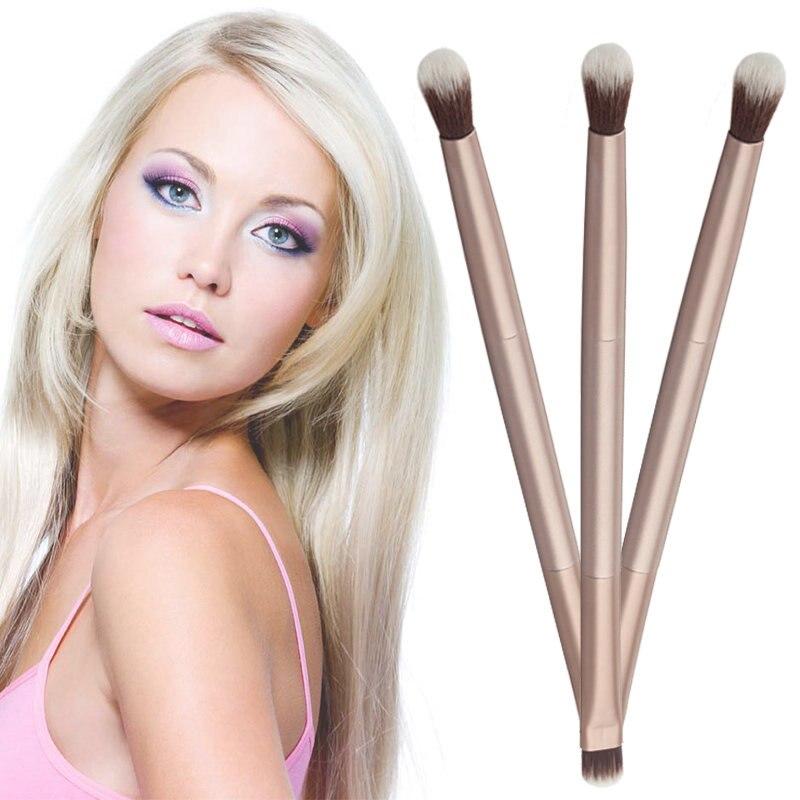 Mayitr 1pc Makeup Cosmetics Blending Eyeshadow Brush Eye Shading Brushes Double-Ended Brush Pen Cosm