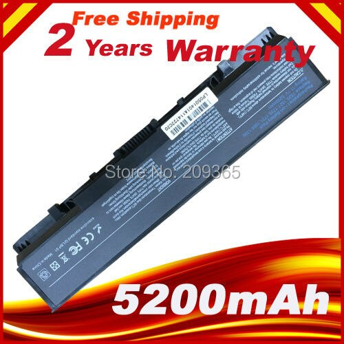 5200mAh batería para Dell Vostro 1500 1700 Inspiron 1520 de 1521, 1720 De 1721 GK479 GR995 KG479 NR222 NR239 TM980 FK890 312-0520