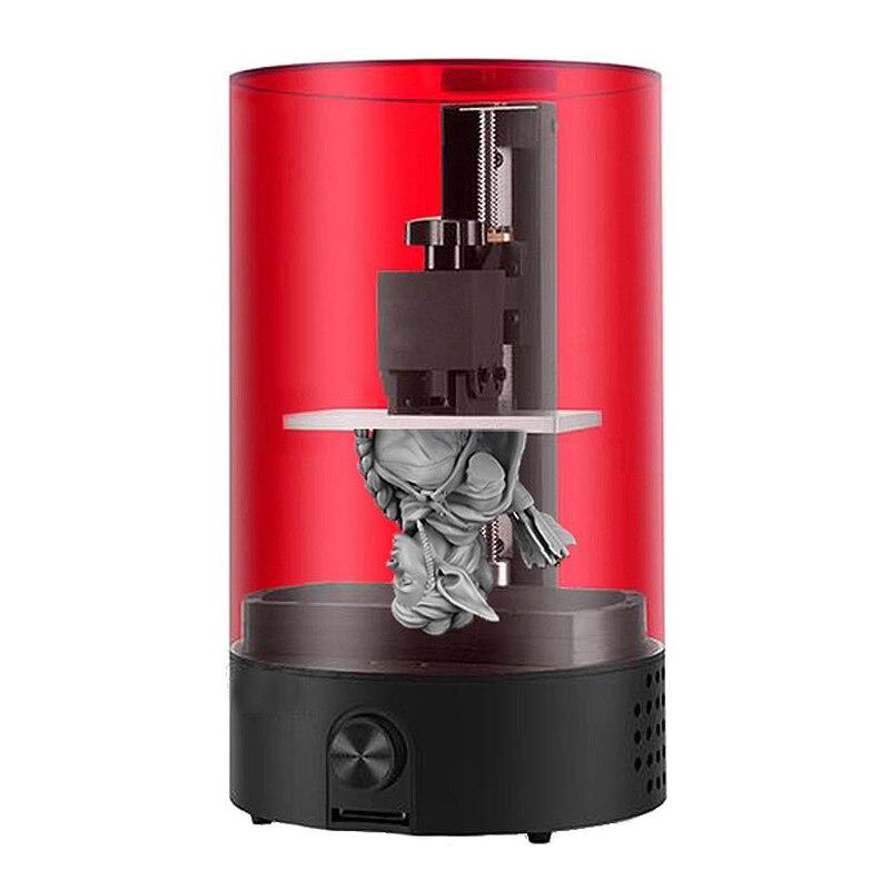 1 conjunto de luz-cura desktop uv resina sla impressora 3d 98*55*125mm construir volume sla/dlp/lcd impressora 3d