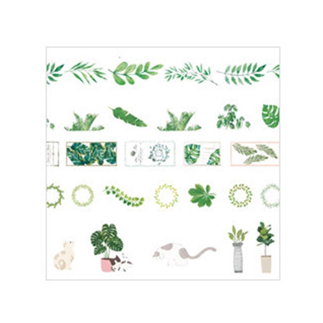 Портативный DIY Скрапбукинг многоразовые декоративные ленты тетради 5 м 0 04 мм 1 см 3