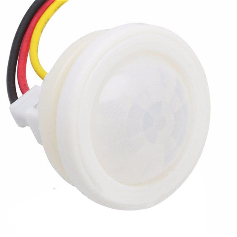 CLAITE 1pcs AC 220V 100W Infrared PIR Motion Sensor Light Switch For Ceiling Light Indction Sensor light Control Detector Module