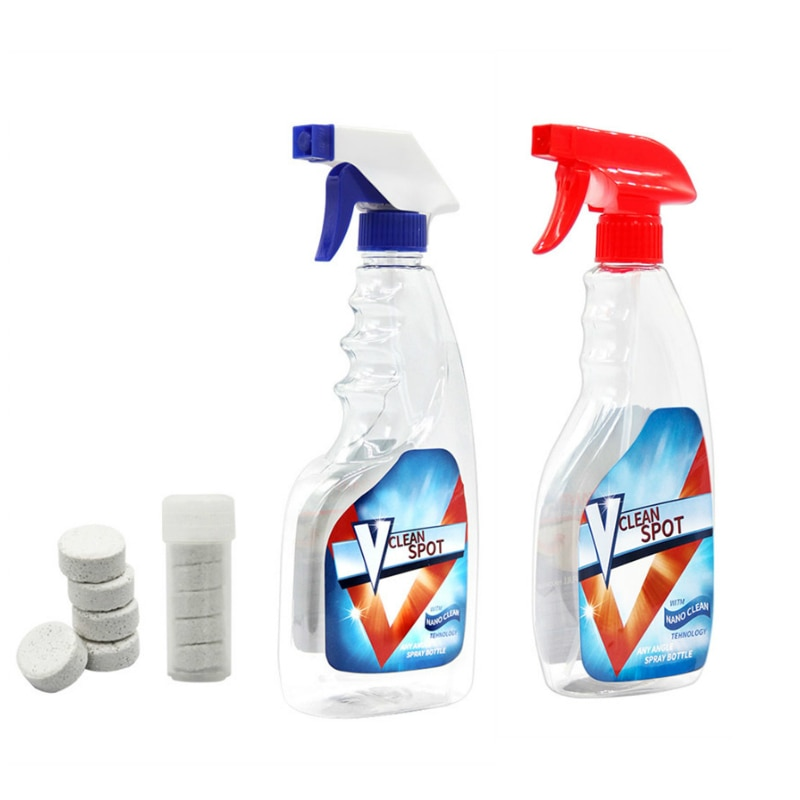 Многофункциональный очиститель с распылителем, набор для чистки дома, средство для домашней уборки, мойка автомобиля, планшет