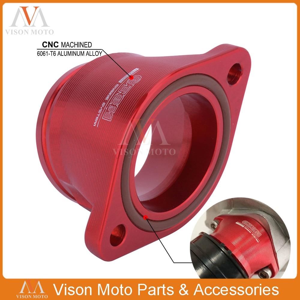 Motocicleta CNC Interface de Carburador Intake Manifold Pipe-Ring Para ZONGSHEN NC250 NC450 NC 250 450 Motocross