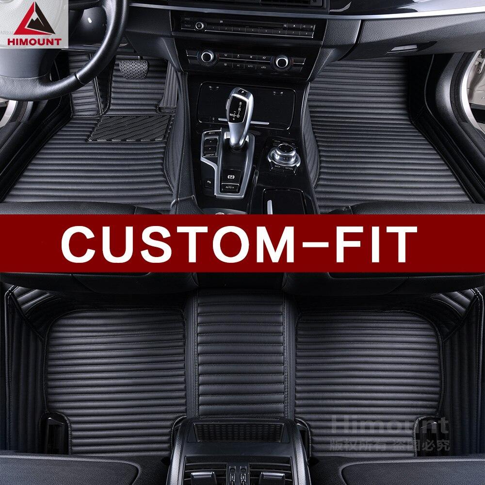 Alfombrillas personalizadas para coche Toyota RAV4 Hybrid Herrer CHR C-HR Cruiser 100 200 Prado 120 150 4Runne alfombras de estilo 3D para coche carpe