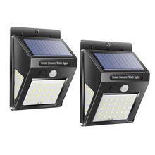 Outdoor Solar Light 48/166 LED COB Waterproof Garden Light Smart IR Motion Sensor Wall Mount Lamp Courtyard Fence Pathway Lamp