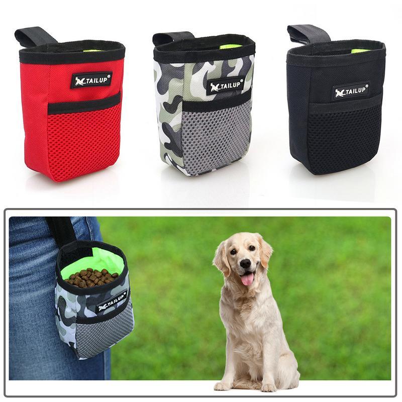 Mini BOLSA PARA snack para perros de entrenamiento portátil al aire libre de verano para mascotas fuerte resistencia al desgaste cómoda gran capacidad para perros y gatos
