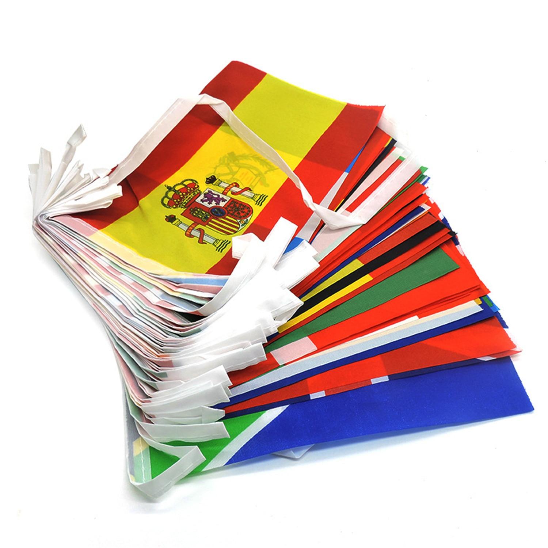 100/200 стран флаг баннер международный мир флаги гирлянда флаги бандаж баннер национальные флаги баннер для украшения партии