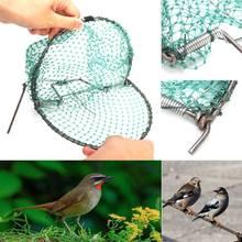 20cm 헤비 듀티 버드 넷 효과적인 자비로운 라이브 트랩 사냥 민감한 메추라기 자비로운 트래핑 사냥 정원 용품 해충 방제