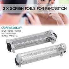 2 x en la pantalla para Remington Shaver SP67 MS2100 MS2200 M S2300 RS4863 RS4400