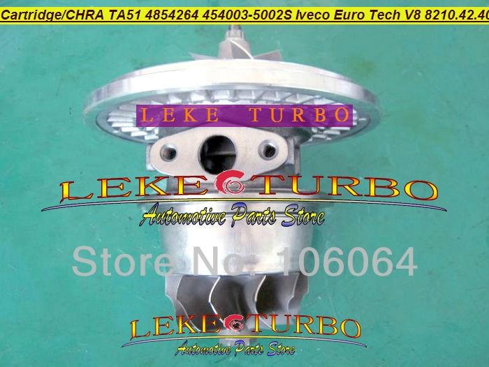 Cartucho Turbo CHRA Core TA5126 4854264, 454003-0002, 454003-5002S 454003 turbocompresor para IVECO Euro Tech V8 8210.42.400 17.2L