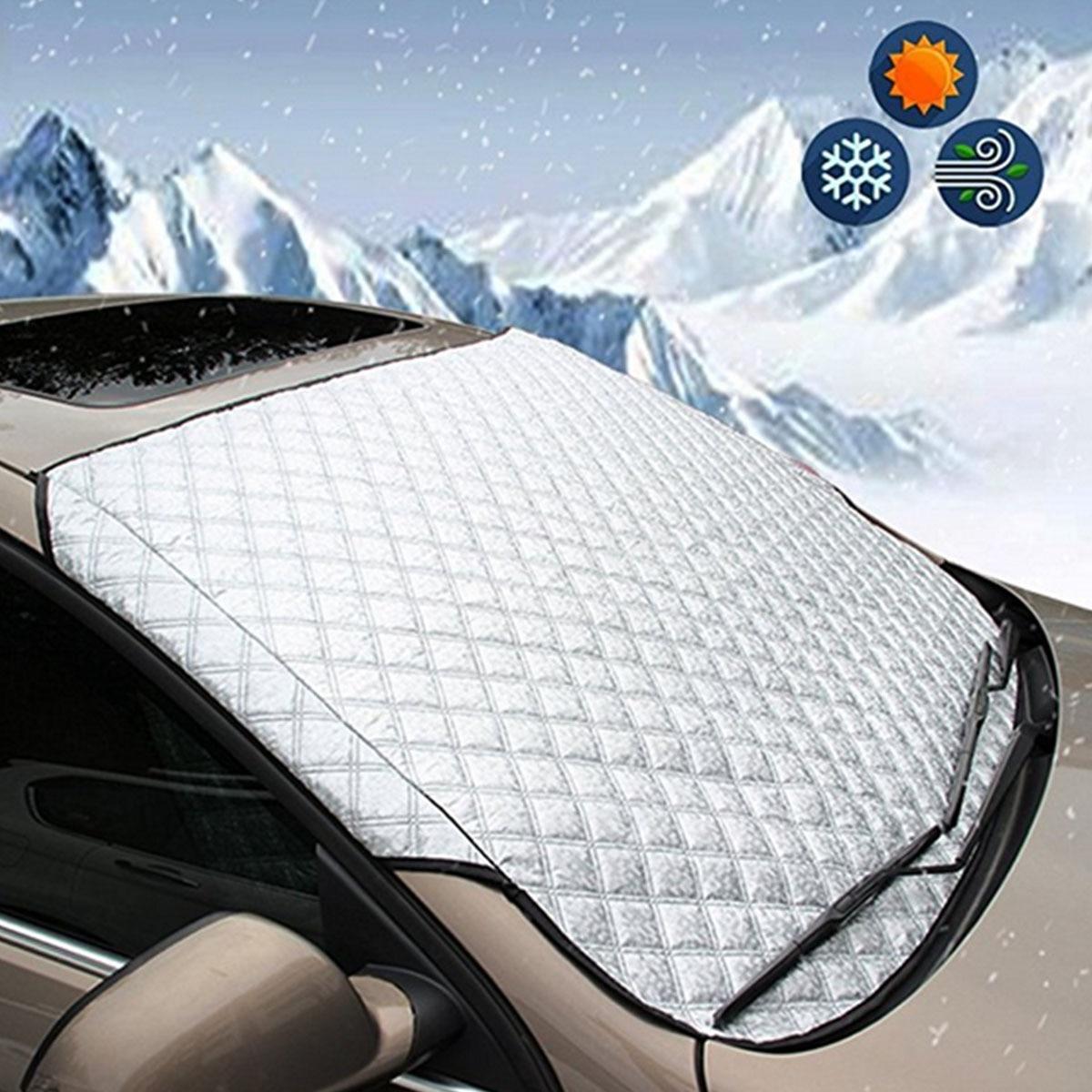 147*70cm WINDSCREEN COVER Car Window Screen sunlight Frost Ice Snow Dust Protector